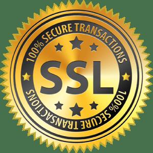 SSL-krypterad webbplats