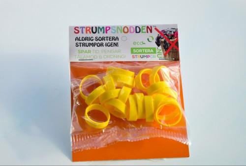 Strumpsnodden gul