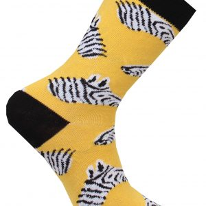 Zebra strumpa liknande Happy Socks Cool Socks